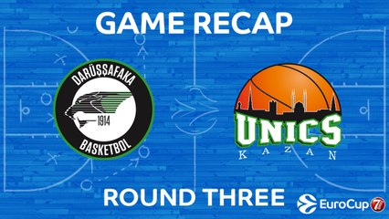 7Days EuroCup Highlights Regular Season, Round 3: Darussafaka 78-69 UNICS