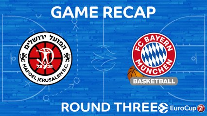 7Days EuroCup Highlights Regular Season, Round 3: Jerusalem 83-91 Bayern