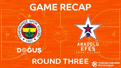 EuroLeague 2017-18 Highlights Regular Season Round 3 video: Fenerbahce 81-70 Efes