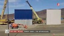 Béton, barbelé, grillage... Les entreprises dévoilent leurs prototypes du mur avec le Mexique