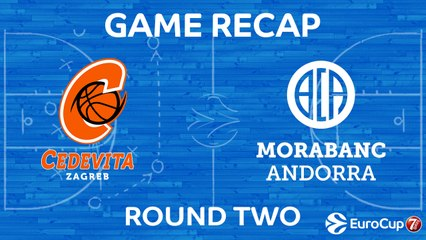 7Days EuroCup Highlights Regular Season, Round 3: Cedevita 91-73 Andorra