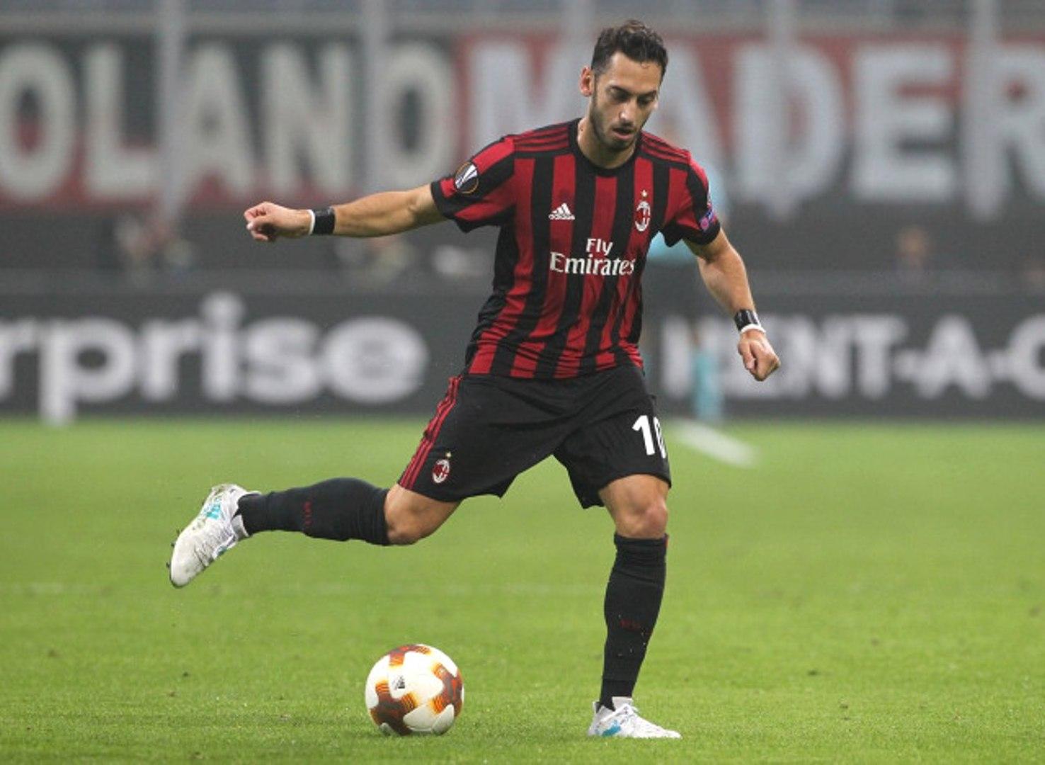 Hakan Çalhanoğlu Seria A'daki İlk Golünü Attı