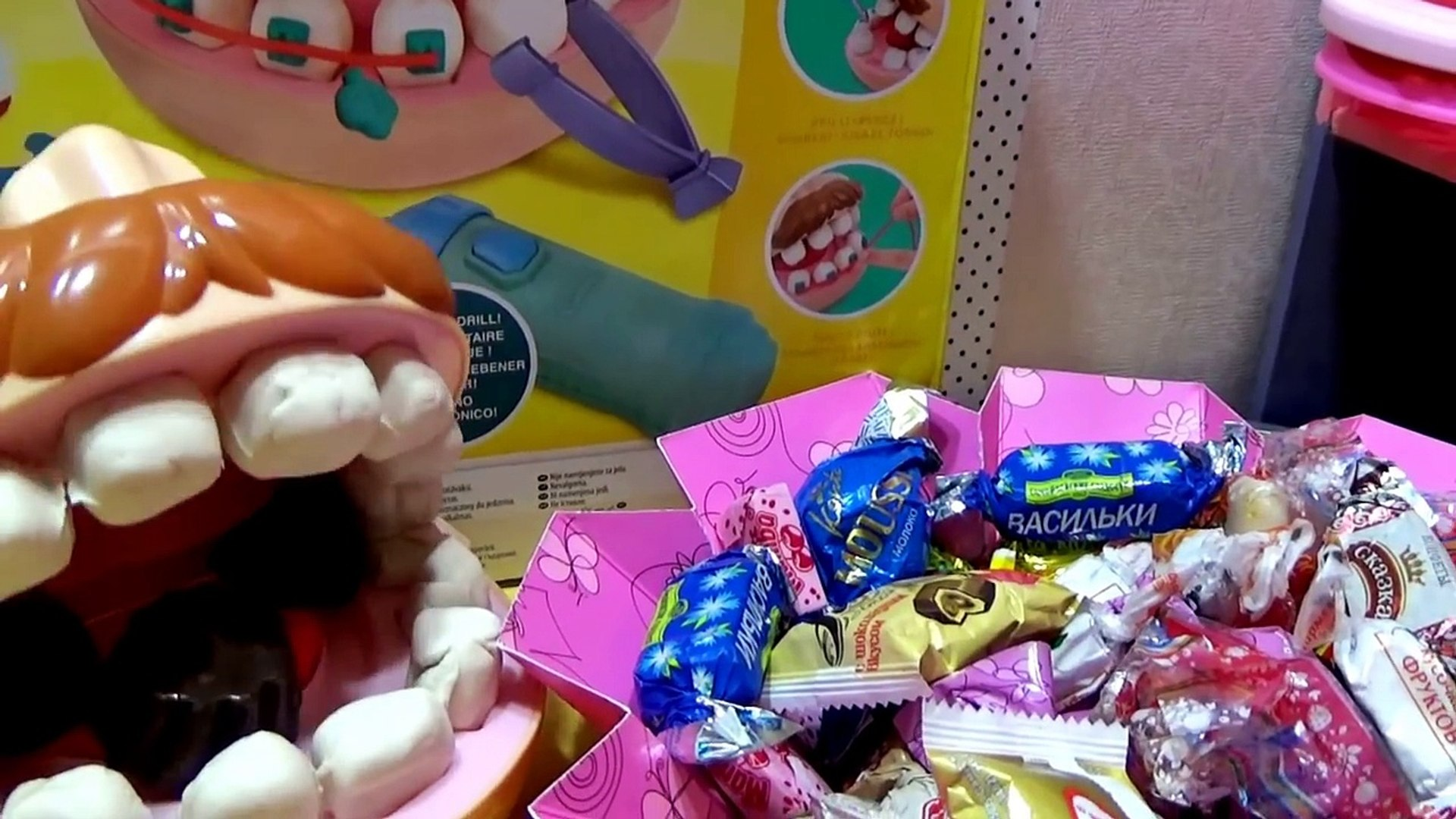 Мультик про кукол. Макс и Катя. Сладкая жизнь/Cartoon about dolls. Max and Katya. Sweet life.