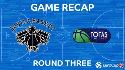 7Days EuroCup Highlights Regular Season, Round 3: Trento 88-91 Tofas