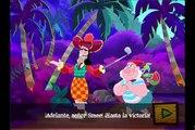 Jake y los piratas de nunca jamás - Juego: minigolf pirata
