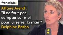 """Affaire Christophe Arend : pour Delphine Batho, """"il n'est pas question de lui serrer la main"""""""
