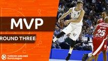 Turkish Airlines EuroLeague Regular Season Round 3 MVP: Luka Doncic, Real Madrid