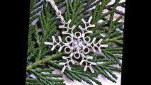 Wire Wrapped Jewelry Tutorial : Snowflake Pendant Part 1