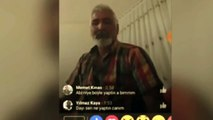 Turkish father livestreams on Facebook