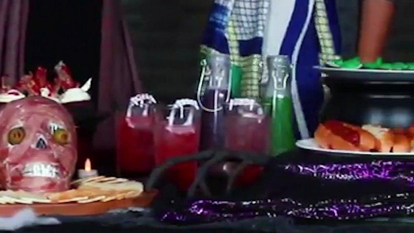 Bàn tiệc Halloween thu hút hàng chục triệu lượt xem vì quá hấp dẫn | Godialy.com