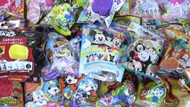 25 Surprise Eggs Disney Tsum Tsum Sofia the First Anpanman Dragon Ball Pokemon Bath Balls