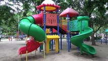 Fun Outdoor Playground for kids Family Fun, Аbc song / Baby Nursery Rhymes Songs