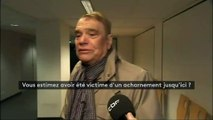 """""""Posez la question à mon estomac"""": interrogé sur ses ennuis judiciaires, Bernard Tapie évoque son cancer"""