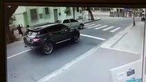 Carjacking du gardien de foot de Botafogo (Brésil)