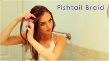 Mermaid Waves Hair Tutorial | How To Seashell Fishtail Braid! Jackie Wyers