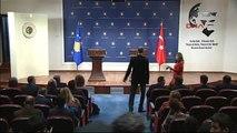 Dışişleri Bakanı Mevlüt Çavuşoğlu ile Kosova Dışişleri Bakanı Behcet Pacolli Ortak Basın Toplantısı...