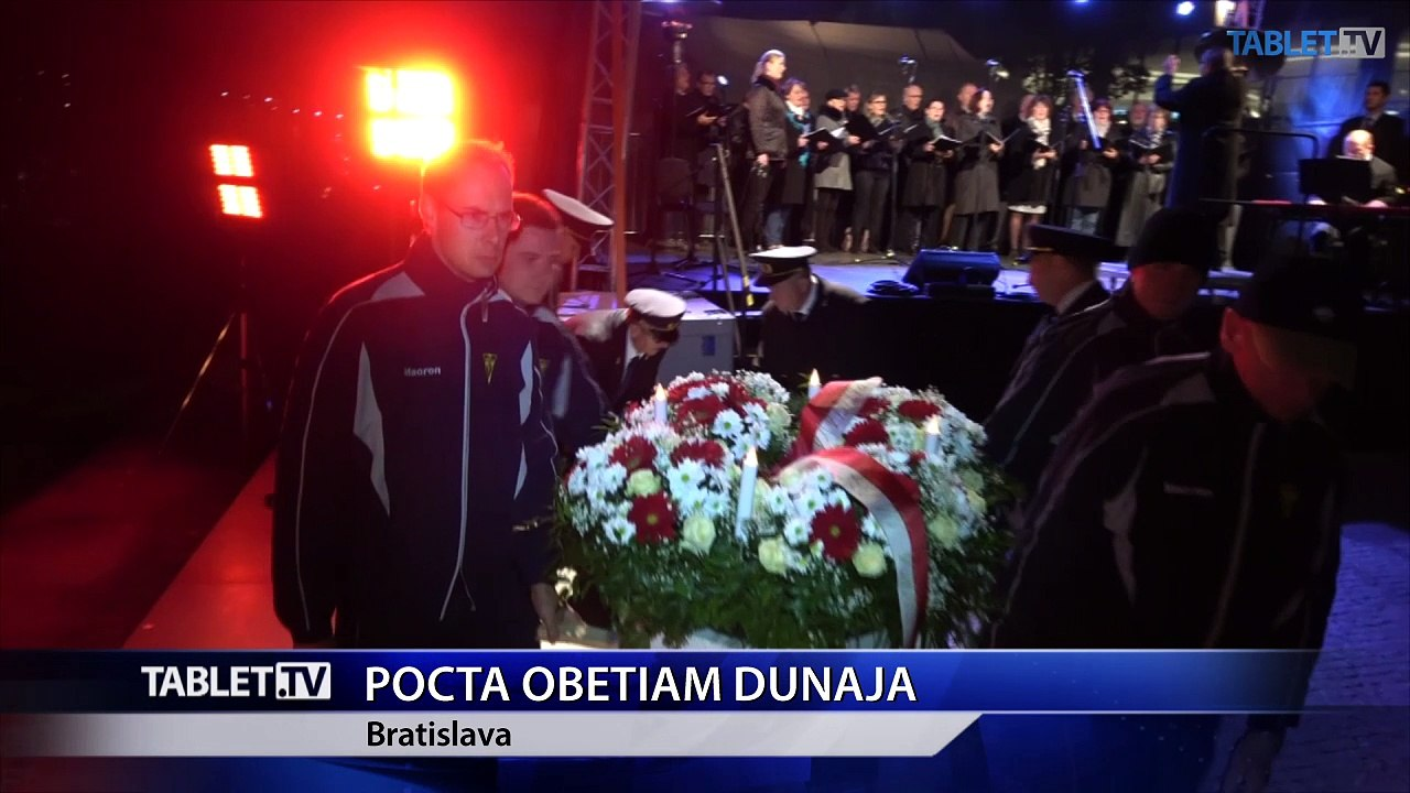 Pocta obetiam Dunaja