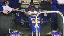 Jacques Villeneuve celebrates his title 1997