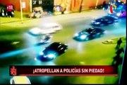 Tragedia en carreteras: Policías pierden la vida tras ser atropellados por malos conductores