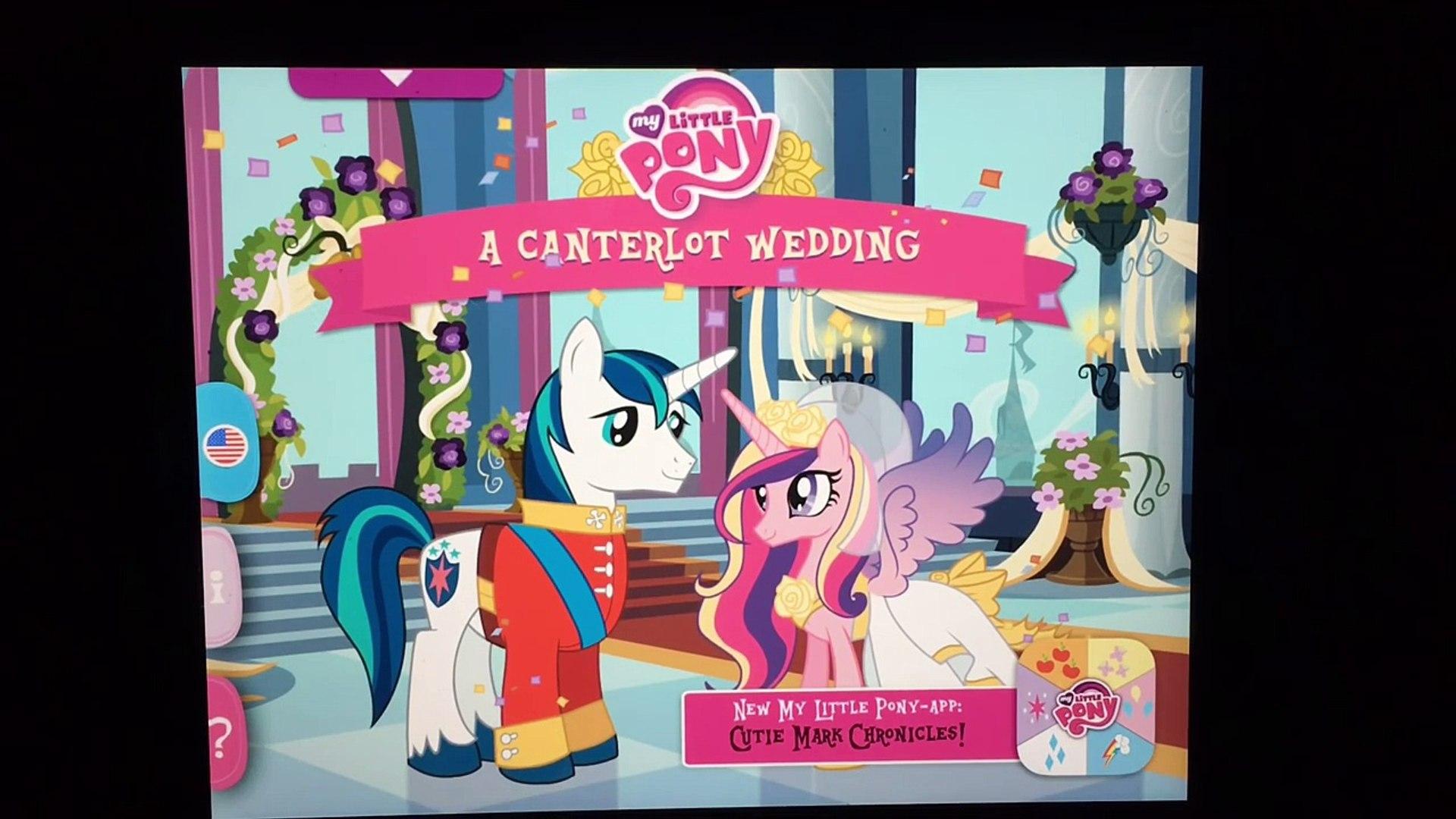 My Little Pony Story App A Canterlot Wedding Mlp Princess Cadance
