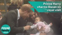 Prince Harry meets young fan during Denmark trip