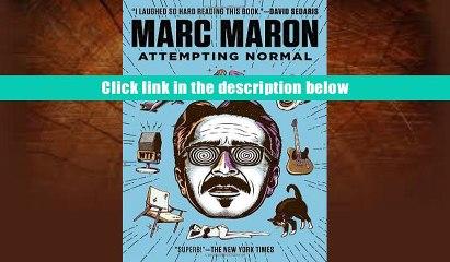 Attempting Normal Marc Maron  eBook Pdf