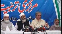 Shah Mehmood Qureshi & Siraj Ul Haq Press Conference | 06 October | live in MANSOORA