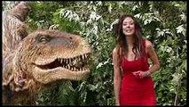 【恐竜ドッキリ】急にこんなの出てきたらビックリするよw�