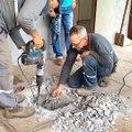 Ces ouvriers ont entendu des bruits provenant du mur... Regardez ce qu'ils ont trouvé piégé dans une canalisation
