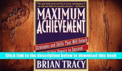 Maximum Achievement   eBook Pdf