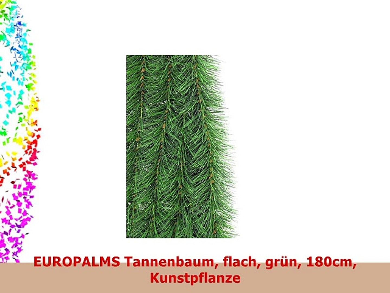 dunkelgrün Metallständer Europalms Tannenbaum inkl flach 150cm