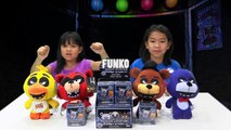 Funko FIVE NIGHTS AT FREDDYS SISTER Location Mystery Minis Unboxing FNAF POP vinyl figures