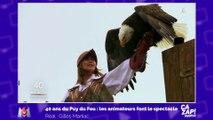 Ophélie Meunier se met en danger au Puy du fou