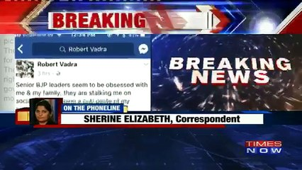Robert Vadra's Charge Against BJP: Claims Priyanka And He Are Being Stalked By BJP On Social Media