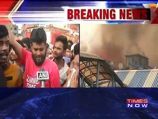Bandra Station Fire: Major Fire Broke Out Outside A Mumbai Suburban Railway Station