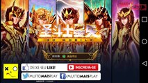 Saint Seiya 3D Mobile #01 - Melhor Jogo MMORPG iOS/Android - CDZ