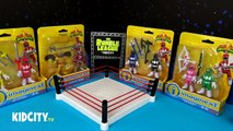 Mighty Morphin Power Rangers Shake Rumble w/ Imaginext Power Rangers Toys Opening