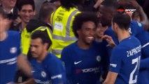 2-0 Willian Goal \England  Football League Cup  Round 4 - 25.10.2017 Chelsea FC 2-0 Everton FC