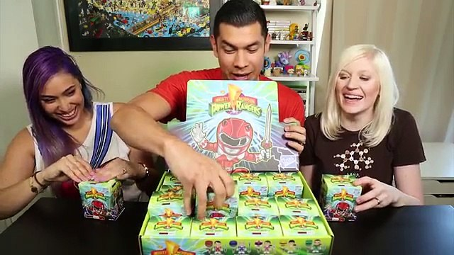 The Loyal Subjects Power Rangers Action Vinyls FULL CASE UNBOXING