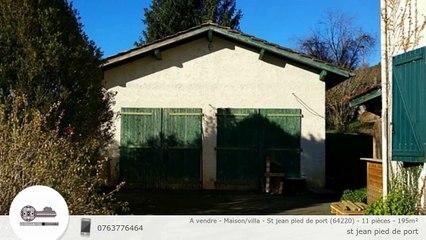A vendre - Maison/villa - St jean pied de port (64220) - 11 pièces - 195m²