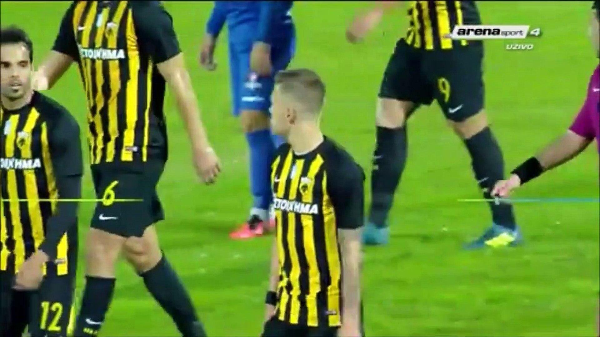 0-7 Arnór Ingvi Traustason Goal Greece Cup  R2 Group 3 - 26.10.2017 Apollon Larisa 0-7 AEK Athens