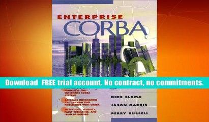 Enterprise Corba Dirk Slama  eBook Pdf