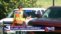 Airplane Makes Emergency Landing on Tennessee Highway
