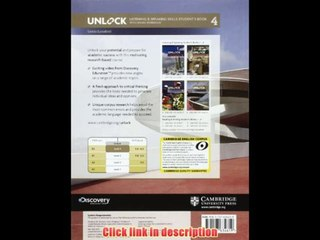 Unlock Level 4 Listening And Speaking Skills Student S  And  Workbook   eBook Pdf