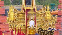 Late Thai King's Urn Arrives at Crematorium