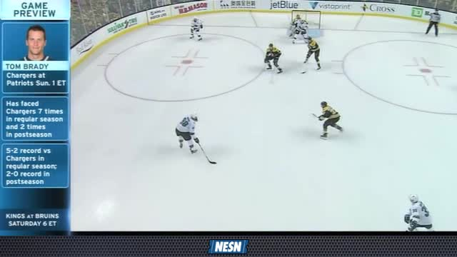 NESN Sports Today: Bruins Beat Sharks 2-1