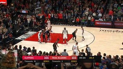 Blake Griffin Game-Winning 3-Pointer VS Blazers!
