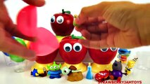 Slime Goo Shopkins Cookie Monster Minecraft Olaf Frozen Cartoon Surprise Toys St