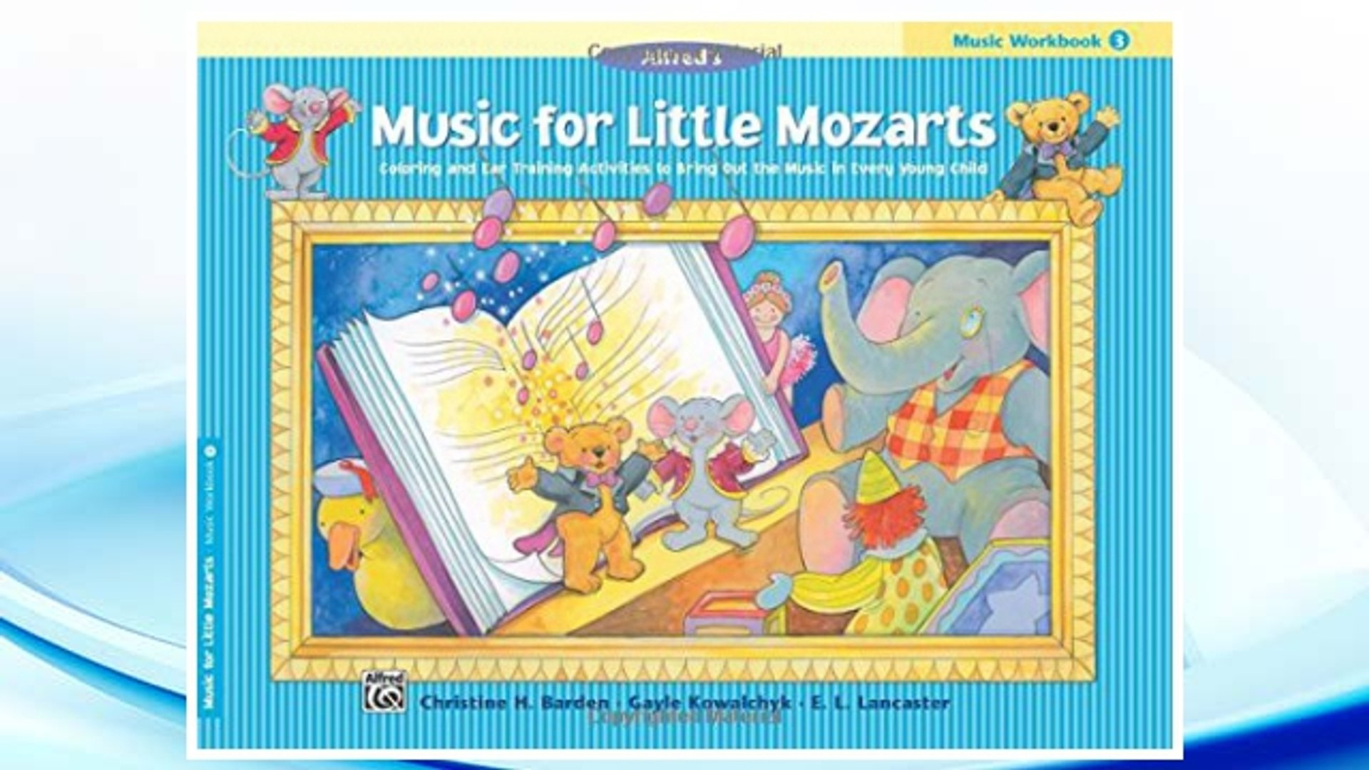 Download PDF Music for Little Mozarts Music Workbook, Bk 3: Coloring and Ear Training Activities to