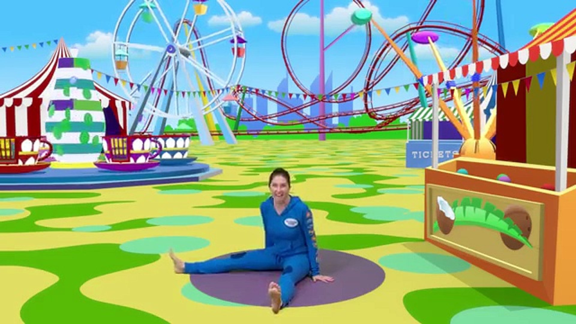 Pedro The Penguin Goes To The Fun Fair A Cosmic Kids Yoga Adventure Dailymotion Video